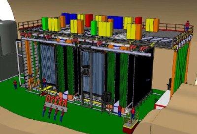 Το εργαστήριο του Gran Sasso βρίσκεται αρκετά μέτρα κάτω από την επιφάνεια της Γης